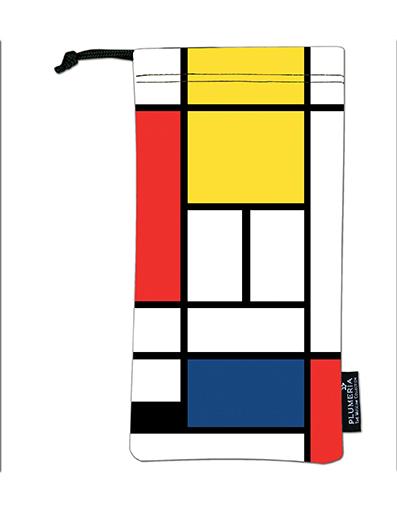 Glasses Pouch, Mondrian, Composition