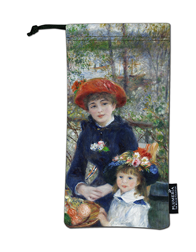 Glasses Pouch, Renoir, Two sisters
