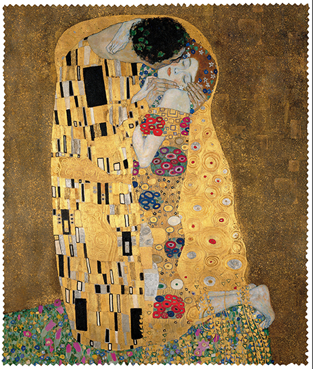Cleaning Cloth, Klimt, The Kiss