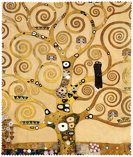 Cleaning Cloth, Klimt, Tree of Life