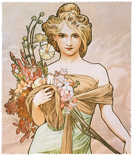 Cleaning Cloth, Mucha, Spring