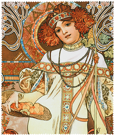 Cleaning Cloth, Mucha, Autumn