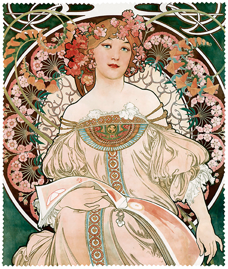 Cleaning Cloth, Mucha, Reverie