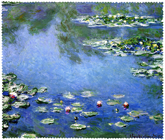 Cleaning Cloth, Monet, Waterlilies