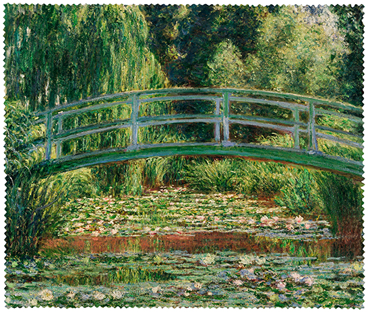 Cleaning Cloth, Monet, Japanese Bridge