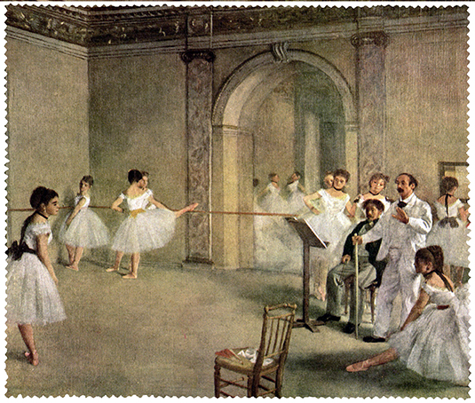 Cleaning Cloth, Degas, Foyer