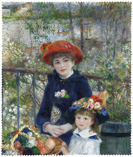Cleaning Cloth, Renoir, Two sisters