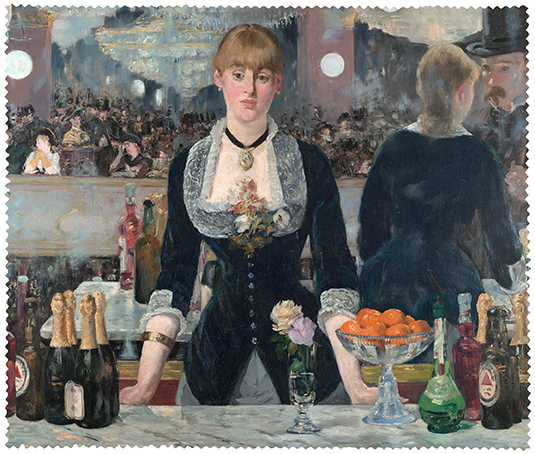 Cleaning Cloth, Manet, A Bar