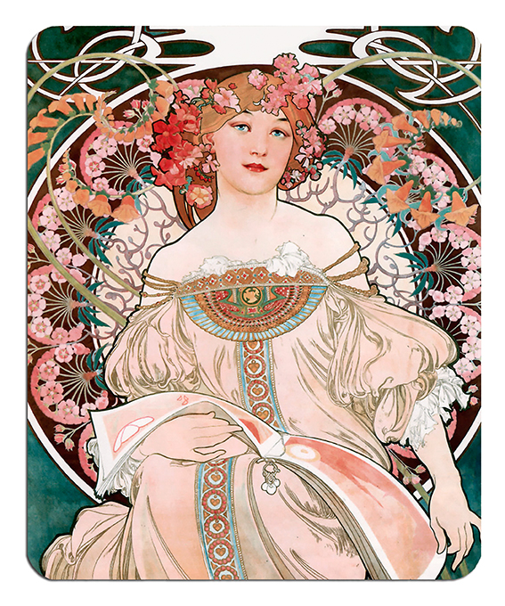 Mousepad, Mucha, Reverie