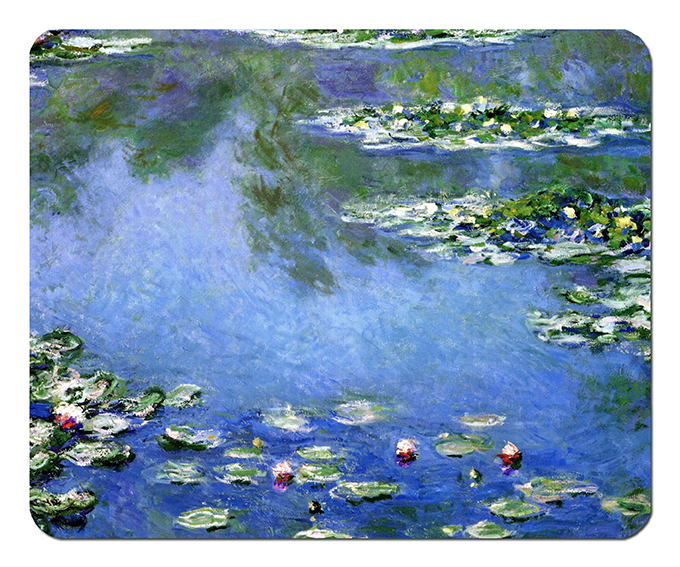 Mousepad, Monet, Waterlilies