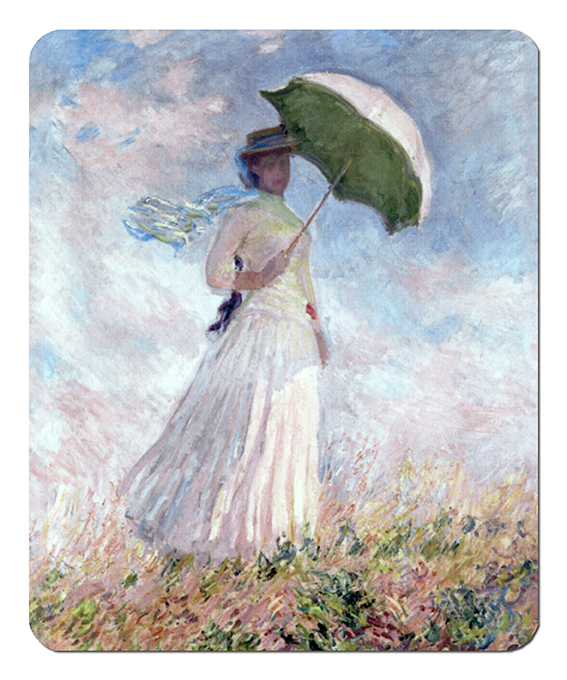 Mousepad, Monet, Women with Parasol