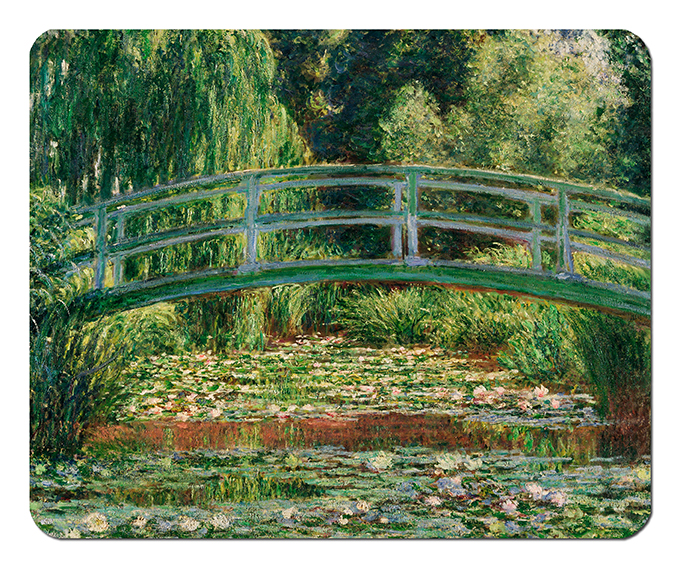 Mousepad, Monet, Japanese Bridge