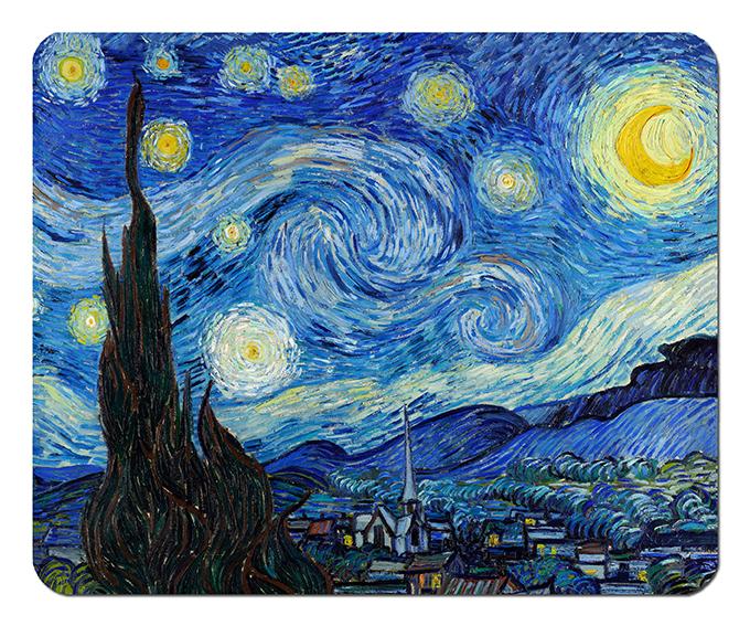 Mousepad, Van Gogh, Starry Night