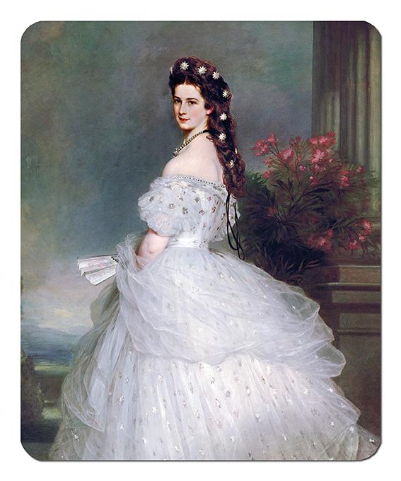 Mousepad, Winterhalter, Empress Elisabeth