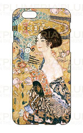 Iphone Case 6/6S, Klimt, Women with Fan