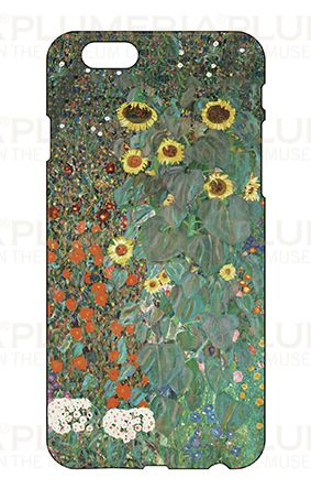Iphone Case 6/6S, Klimt, Garden with Sunflowers