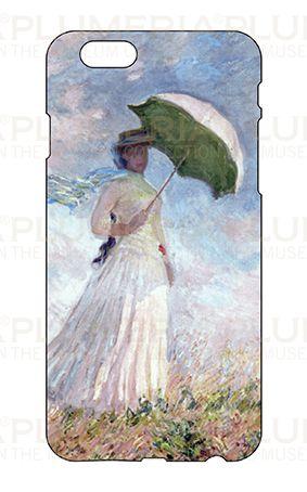 Iphone Case 6/6S, Monet, Women with Parasol