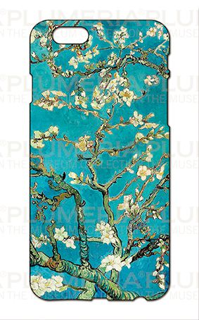 Iphone Case 6/6S, Van Gogh, Almond Blossom   PLUMERIA – T