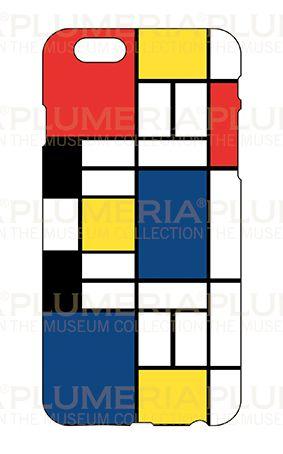 Iphone Case 6/6S, Mondrian, Composition