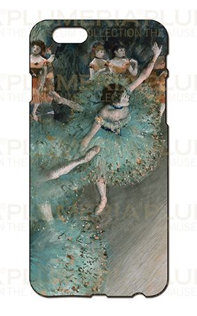 Iphone Case 6/6S, Degas, Green Dancer