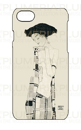 Iphone Case 7/8, Schiele, Stationary Girl