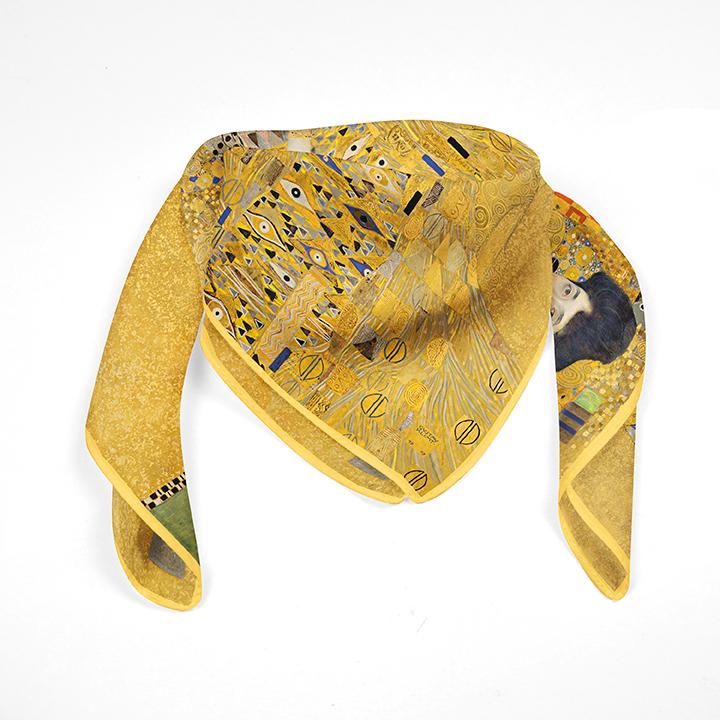 Square, Klimt, Adele, 90x90cm, 100% Silk