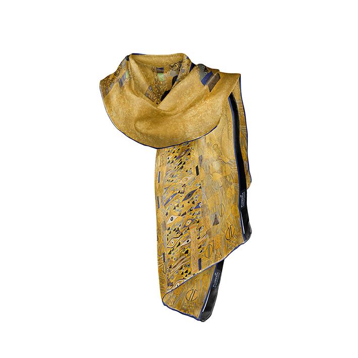 Scarf, Klimt,, Adele, 40x160cm, 100% Silk