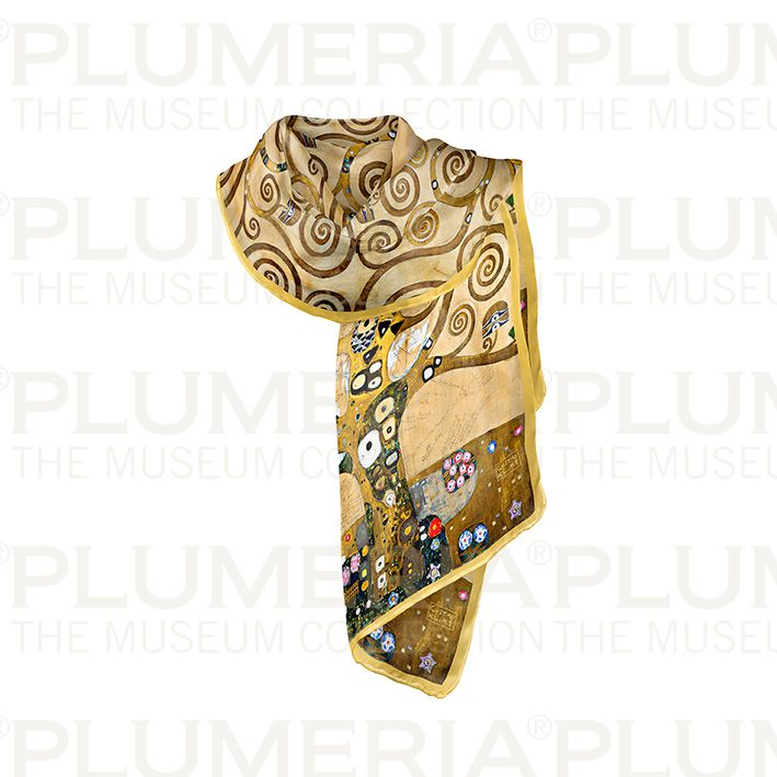 Scarf, Klimt, Tree of Life, 40x160cm, Modal