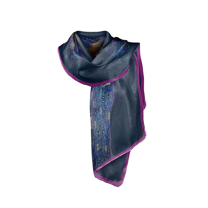 Scarf, Klimt, Emilie Flöge, 40x160cm, 100% Silk
