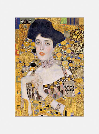 Passe Partout, Klimt, Adele Detail, 39x29cm