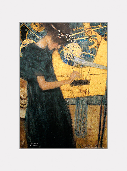 Passe Partout, Klimt, The Music, 39x29cm