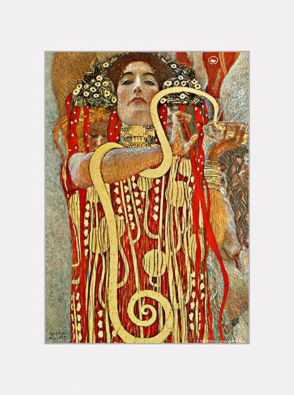 Passe Partout, Klimt, Hygieia, 39x29cm