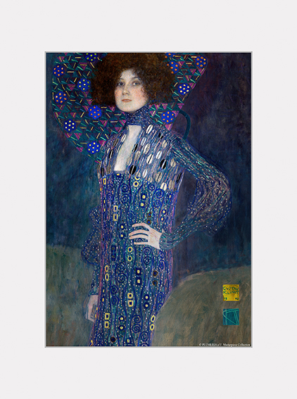Passe Partout, Klimt, Emilie Fl�ge, 39x29cm