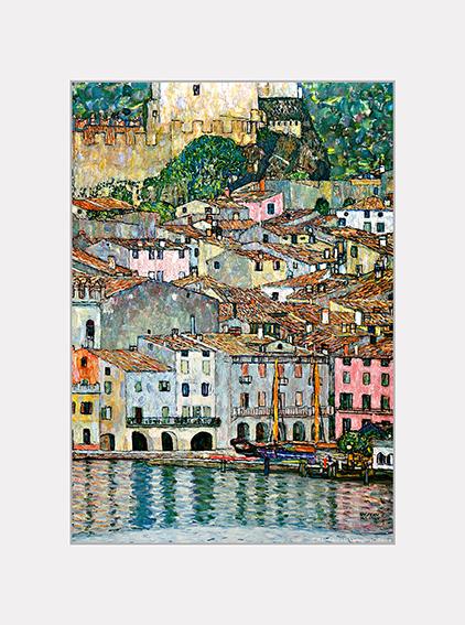 Passe Partout, Klimt, Malcesine, 39x29cm