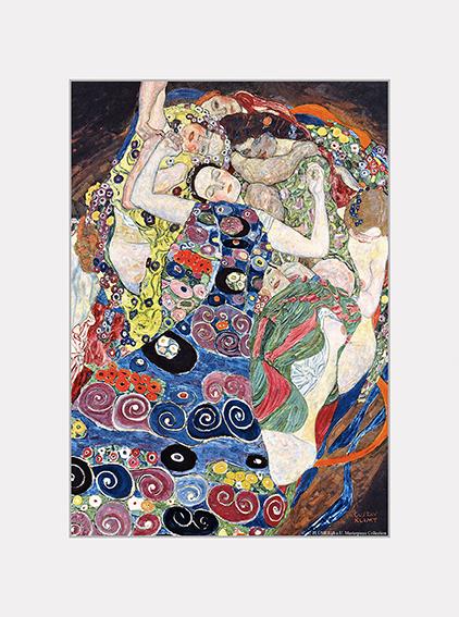 Passe Partout, Klimt, The Virgin, 39x29cm