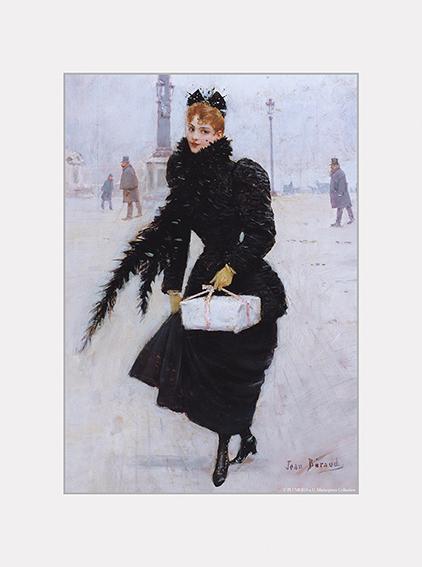 Passe Partout, Beraud, Parisian Women, 39x29cm