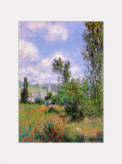 Passe Partout, Monet, View of Vetheuil, 39x29cm