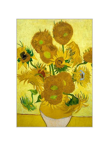 Passe Partout, Van Gogh, Sunflowers, 39x29cm