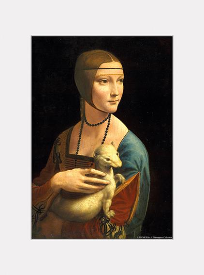 Passe Partout, Da Vinci, Lady, 39x29cm