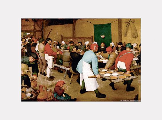 Passe Partout, Bruegel, Peasant Wedding, 39x29cm