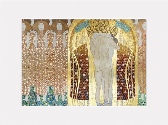 Passe Partout, Klimt, Beethovenfries, 39x29cm