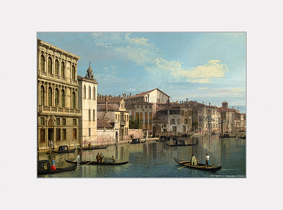 Passe Partout, Canaletto, Grand Canal, 39x29cm