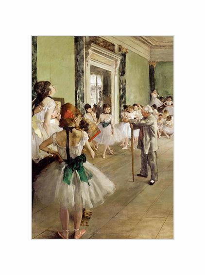 Passe Partout, Degas, Ballet Class, 39x29cm