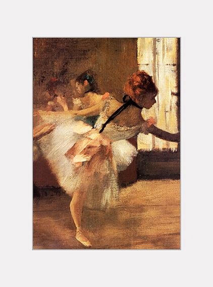 Passe Partout, Degas, Waiting, 39x29cm