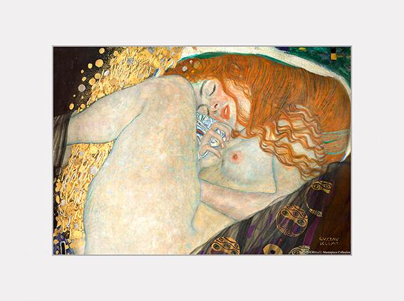 Passe Partout, Klimt, Danae, 39x29cm