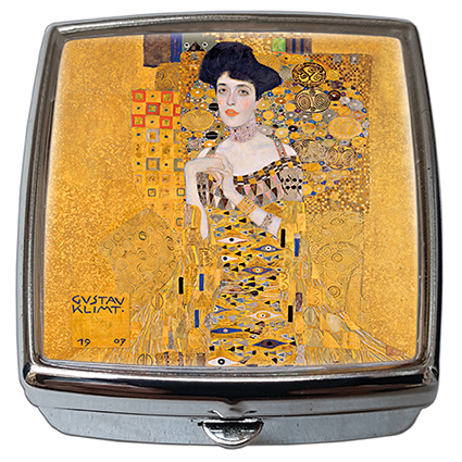 Pill-Box Square, Klimt, Adele, 54x58x18mm