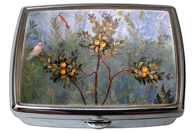 Pill-Box Rectangle, Villa di Livia, Garden Fresco, 57x45x15mm