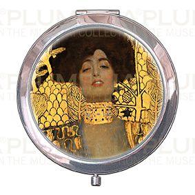 Pocket-Mirror with box, Klimt,Judith I, 70x11mm