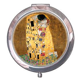 Pocket-Mirror, Klimt, The Kiss, 70x11mm