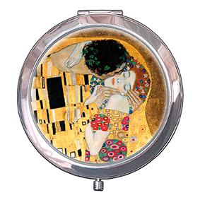 Pocket-Mirror, Klimt, The Kiss Detail, 70x11mm